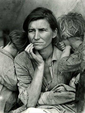 Dorothea Lange. Mare migrant.