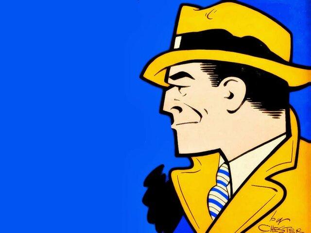 Chester Gould. Primer exemplar de Dick Tracy.