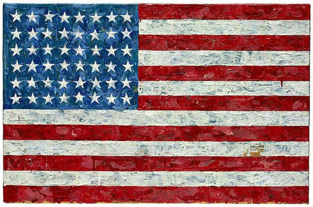 Jasper Johns. Bandera