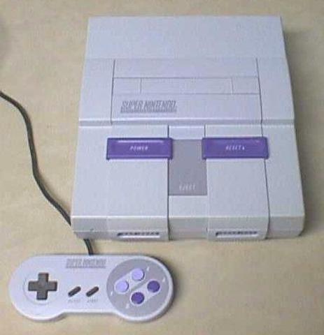 Videoconsola Super Nintendo