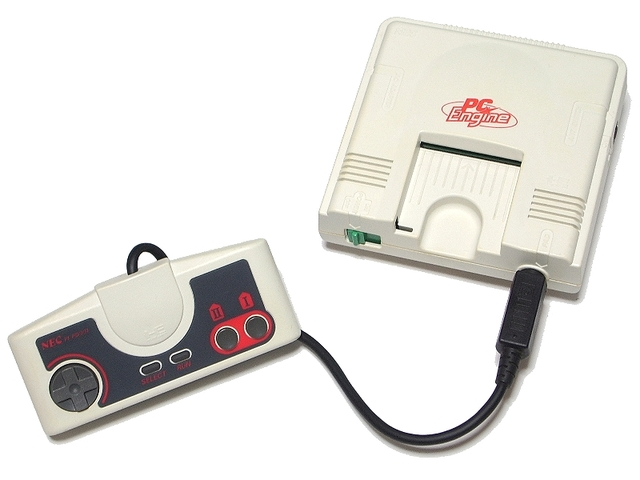 Consola PC Engine con CD-ROM