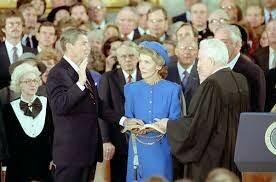 Reagan's Second Inauguration