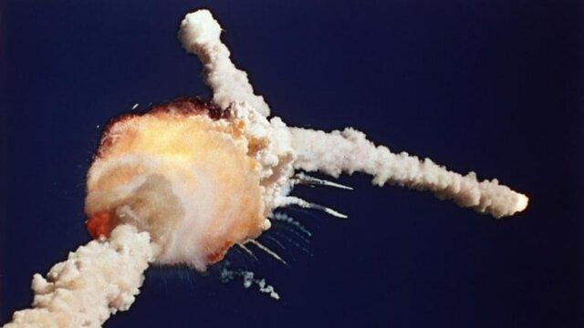 Space Shuttle 'Challenger' Explodes
