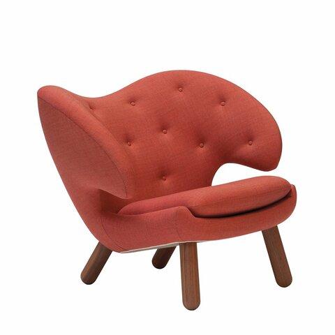 Muebles y objetos escandinavos: Silla Pelican(Finn Juhl)
