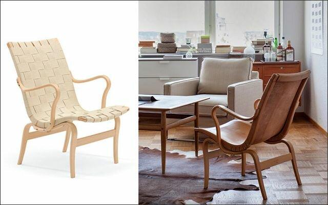 Muebles y objetos escandinavos: Silla Eva (Bruno Mathsson)