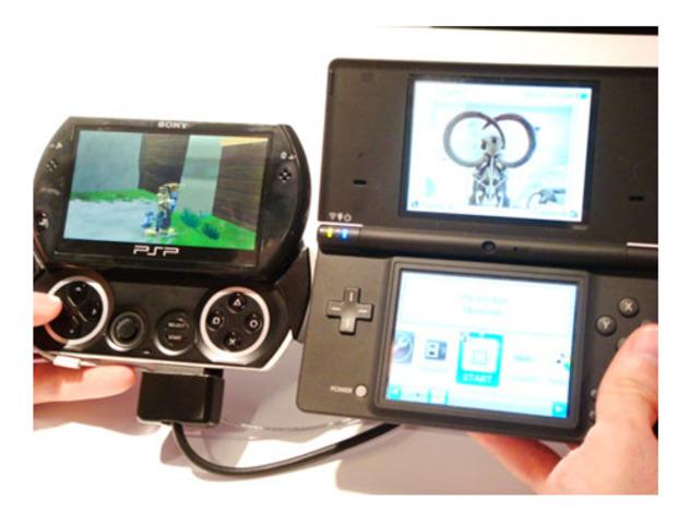 Videoconsolas Nintendo DSi y Sony PSP Go