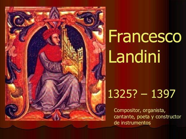 compositor francesco landini