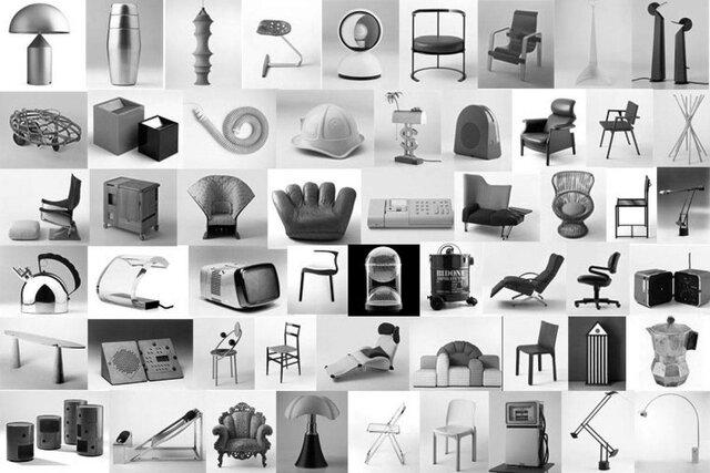 El diseño italiano el Mobiliario