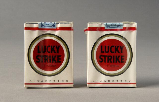 Etiqueta de Lucky Strike