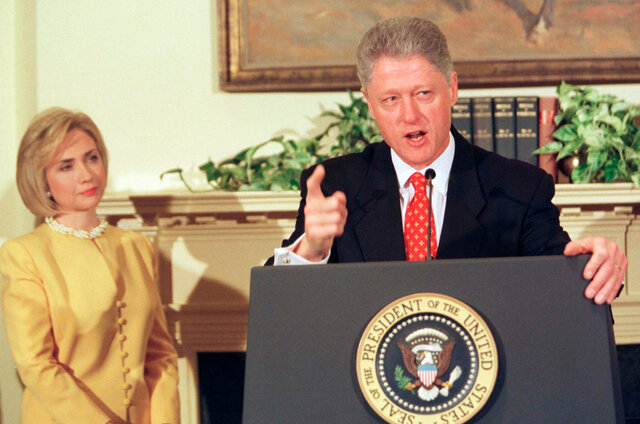 Monica Lewinsky Sexual Relationship Denial