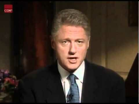 President Clinton Admits To Having A Sexual Relationship With Monica Lewinsky