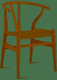 Muebles y objetos escandinavos: La silla CH24 Wishbone