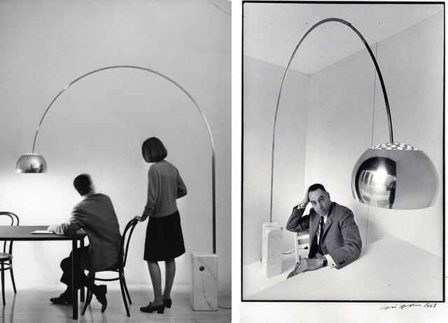 Diseño Italiano: Achille Castiglioni (Lámpara Arco)