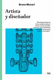 Diseño Italiano: Bruno Munari (Libro Artista y diseñador)