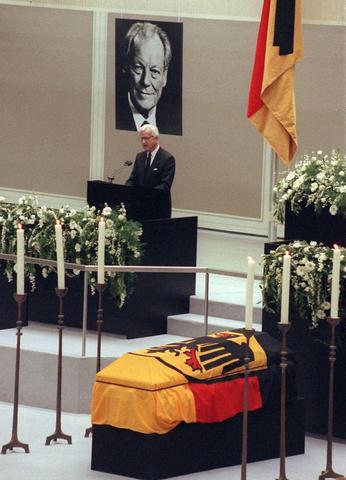 Morte di Willy Brandt