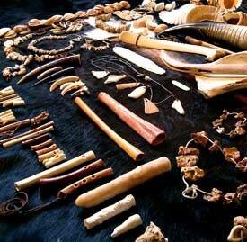 Instrumentos en la prehistoria