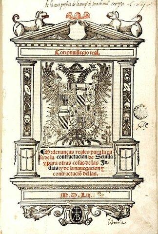 Es crea la Casa de Contratación de Sevilla.