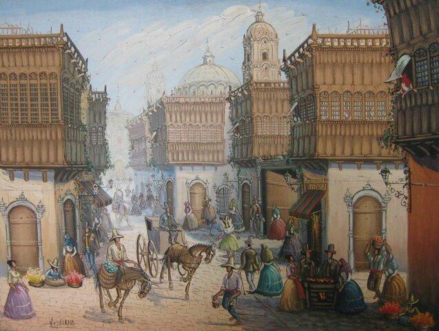 Pizarro estableix una capital a Lima i una altre ciutat més al nord.
