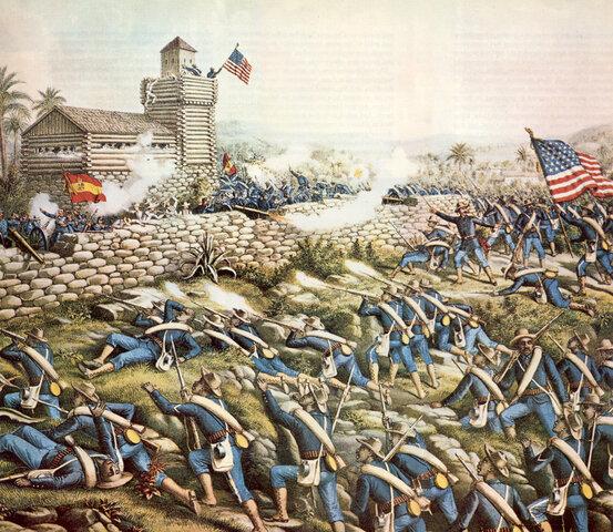 Battle of San Juan Hill.