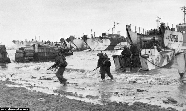 Desembarco en Normandía (Día D)