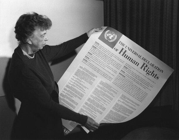 La ONU proclama la Declaración Universal de los Derechos Humanos