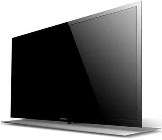 Television en HD sistema led extra fina.