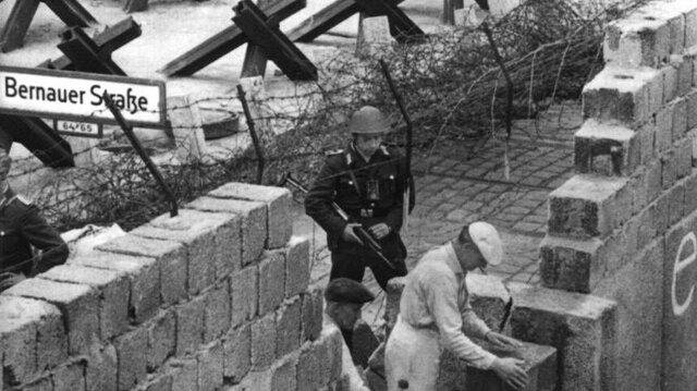 Creación del muro de Berlín