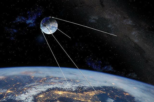 Entra en órbita el Sputnik, primer satélite artificial soviético