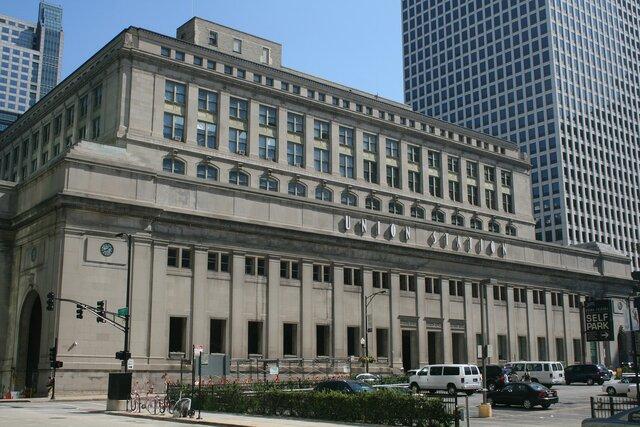 Chicago Union Station. (Chicago).