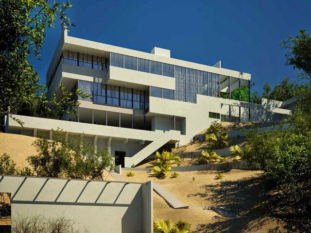 Casa del Dr. Lovell por Richard Neutra.