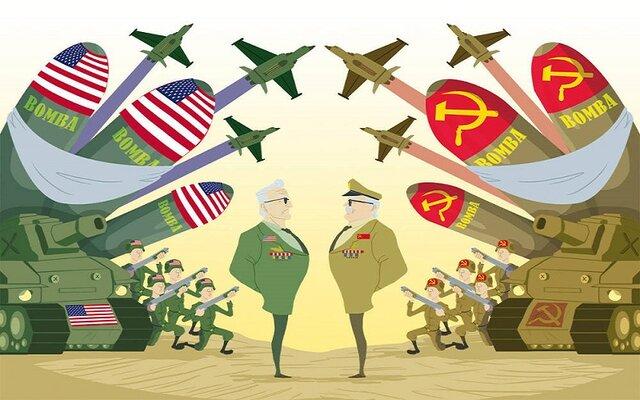 Fin de la posición del Reino Unido como superpotencia global y la emergencia de los Estados Unidos y la Unión Soviética como poderes dominantes en el mundo.