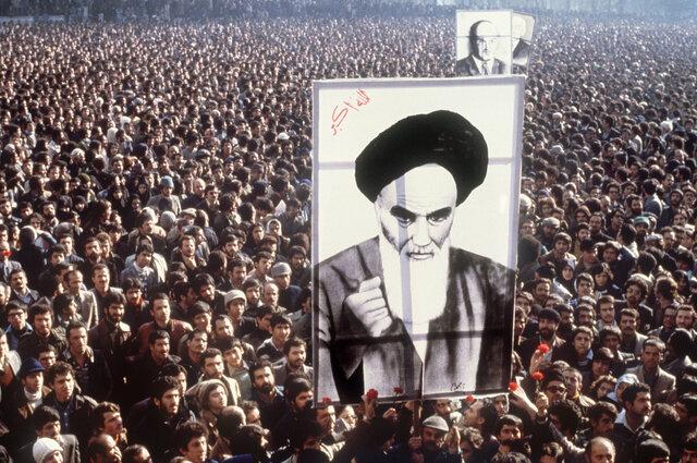 Revolución islámica en Irán