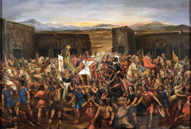 Comença a l'Imperi Inca una guerra civil entre Huáscar i Atahualpa