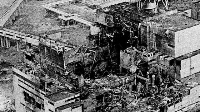 Catástrofe nuclear de Chernobyl.