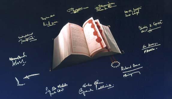 Los miembros de la UE firman el Tratado de Maastricht