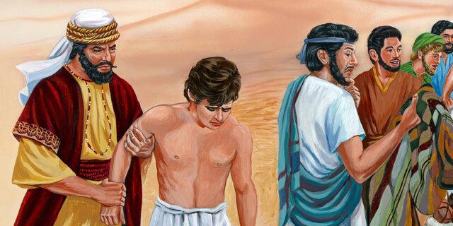 José vendido como escravo