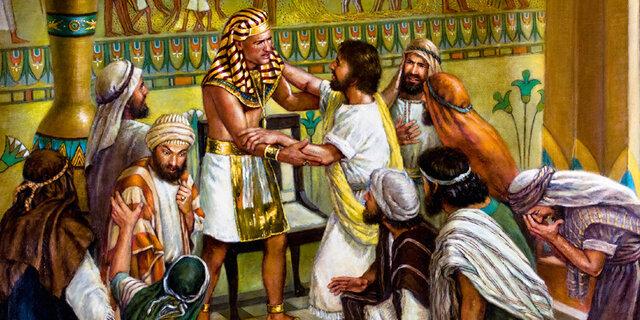 Mudança de Jacó e sua familia para o Egito
