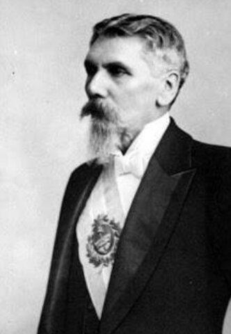 Presidente José Evaristo Uriburu (1895- 1898)