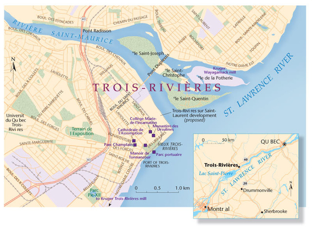Trois Riviere was founded