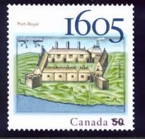 The Establishment Of Port Royale (Nova Scotia)