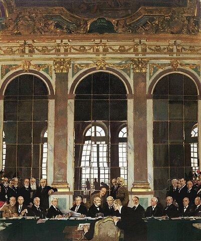 Reservas de Lodge. - USA no entra en la Sociedad de Naciones.