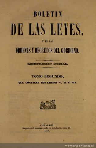 Las Siete Leyes Constitucionales de 1836