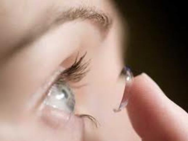 Invention of Contact Lenses