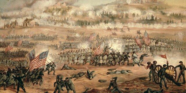 Battle of Fredericksburg December 11-15, 1862