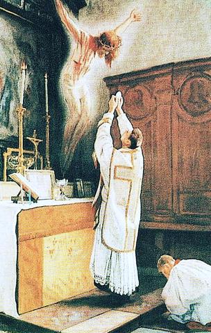 La Misa, sacrificio de propiciación, cuya virtud salvífica deriva de la cruz de Cristo
