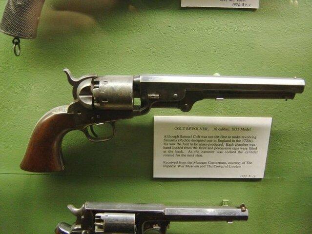 El arma de fuego