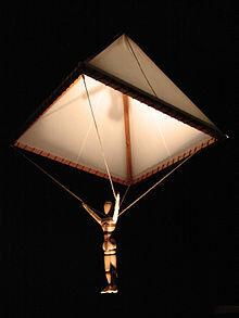 Paracaigudes - Leonardo da Vinci