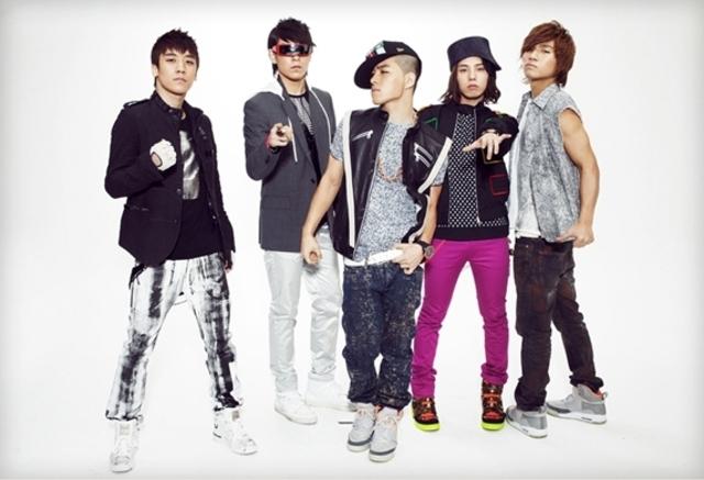 Big bang a korean Band group