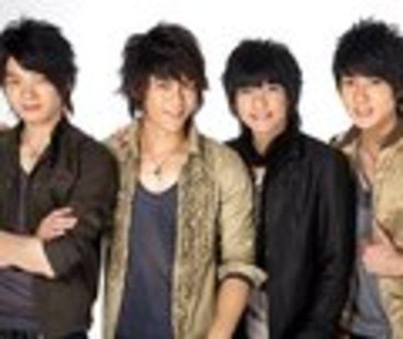 Fahrenheit a Taiwanese boy band.