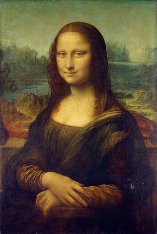 Mona Lisa is completed.